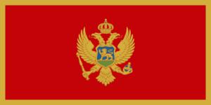 Vlajka Černé Hory