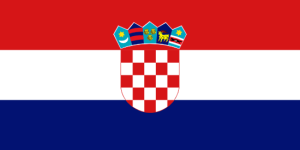 Vlajka Chorvatska