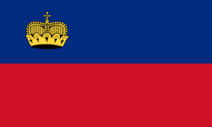 Vlajka Lichtenštejnska
